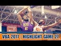 Highlight VBA 2017 || Game 27: Hochiminh City Wings vs Saigon Heat 10/10