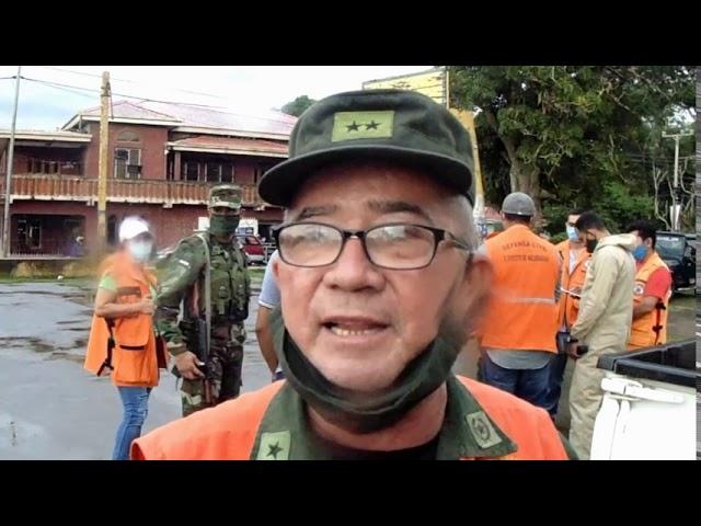 JORNADA DE DESINFECCIÓN EN 3 CIUDADES DE LA REGIÓN CENTRAL
