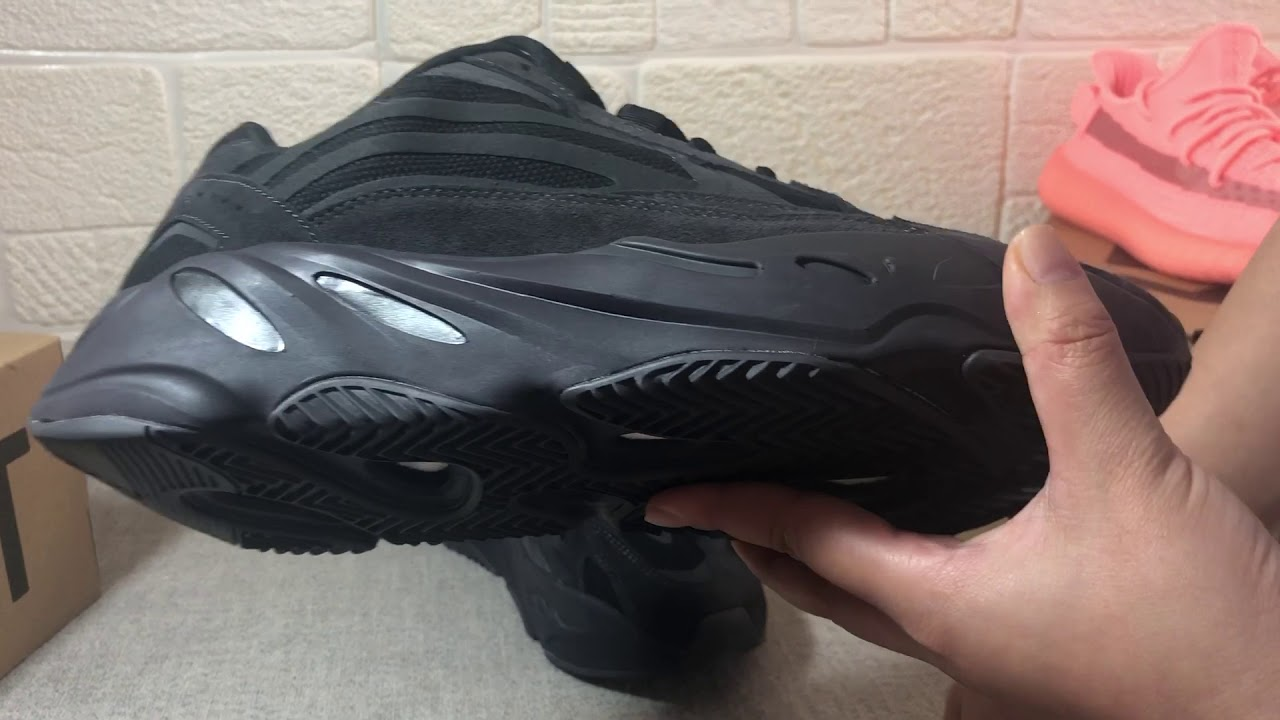 3aa5d20a Early look on Adidas yeezy boost 700 utility black ware runners triple black  2019ss new release