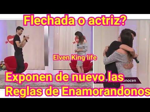 Flechada revela En Vivo El fraude de Enamorandonos para el público.. No acercarse a los famosos