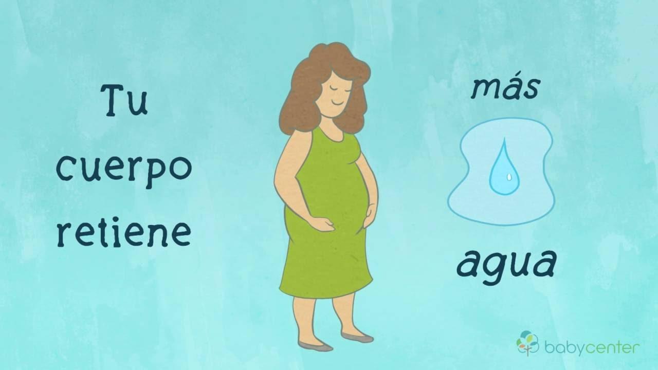 Es malo que se hinchan los pies estando embarazada