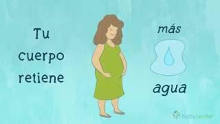 En la embarazo noche manos hinchadas