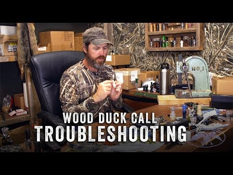 Wood Duck Call Troubleshooting with Jase Robertson
