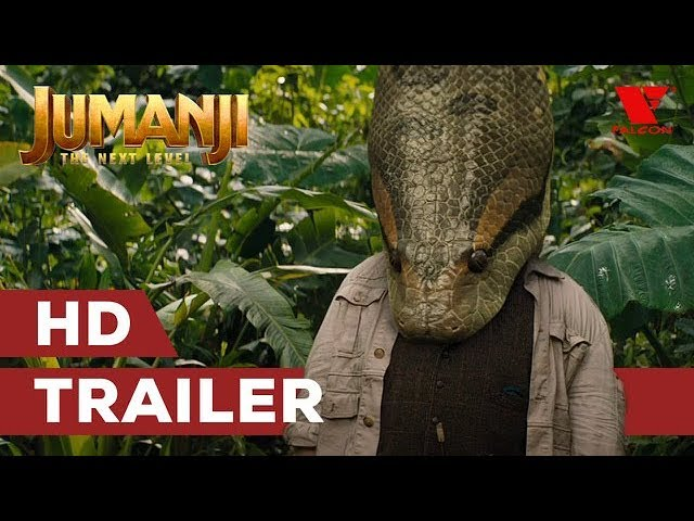 Jumanji: Další level (2019) HD oficiální trailer #3 | CZ titulky