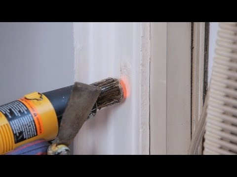 how-to-strip-paint-using-a-heat-gun-|-house-painting