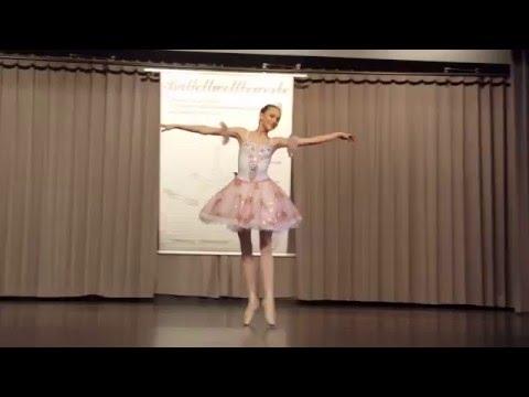 """DAS STUDIO, Ballettschule in Frankfurt. Deutscher Ballettwettbewerb 2016. Choreographie: """"Zuckerfee"""""""