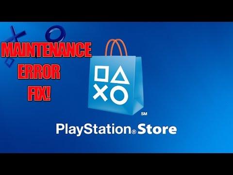 PSN Store Under Maintenance Error Fix! (2017)
