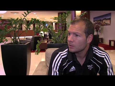 Franz Burgmeier LFV-Ambassador für das WM-Qualifikationsspiel Liechtenstein - Litauen