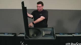 PreSonus—Rotating the PreSonus ULT Pivot X110 Horn