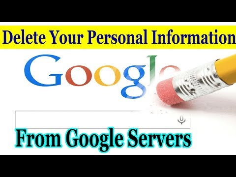 How to remove my name from google search engines