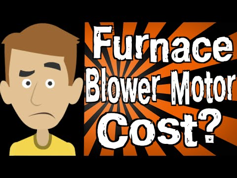 How Much Does A Furnace Blower Motor Cost Youtube
