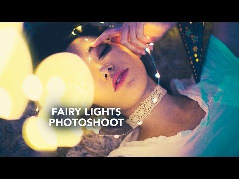 Fairy Lights TUMBLR STYLE SPARKLER & FAIRY LIGHTS Photoshoot