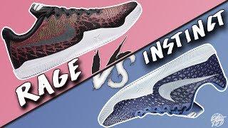a415178a3926 Nike Kobe Mamba Rage vs Mamba Instinct! What s The Difference