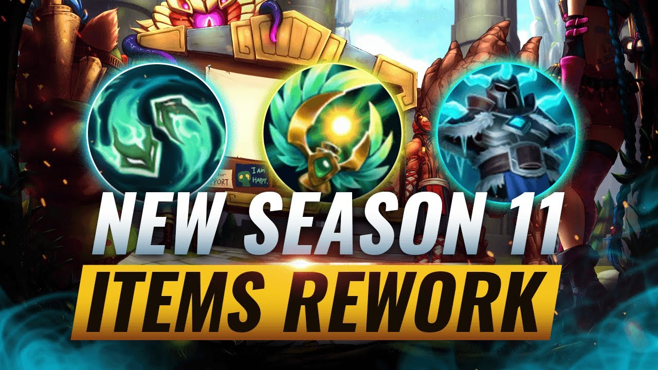 MASSIVE CHANGES: NEW ITEM REWORKS & SEASON 11 CHANGES COMING SOON - League of Legends