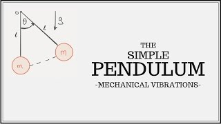 Equation of Motion for the Simple Pendulum (SDOF)