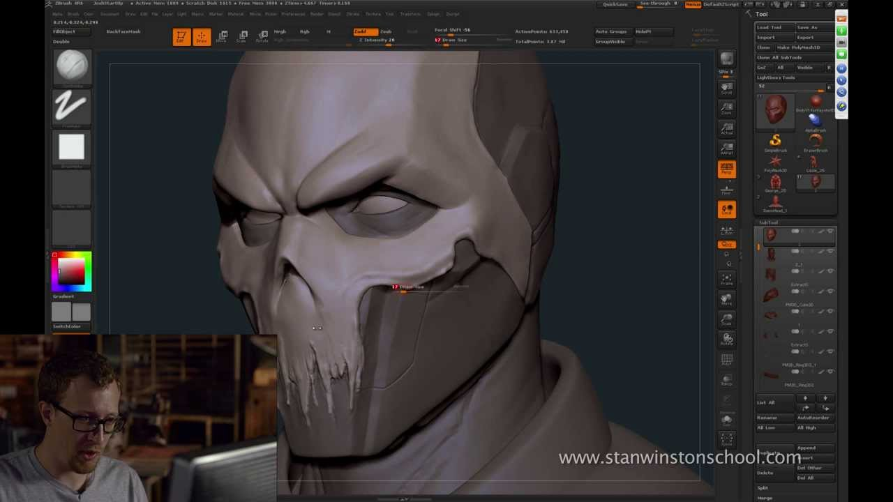 free zbrush creature sculpting preview webinar with josh herman