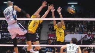 Volleyball 堺 vs サムソン火災 Japan Korea V.LEAGUE TOP MATCH 2013.4.21