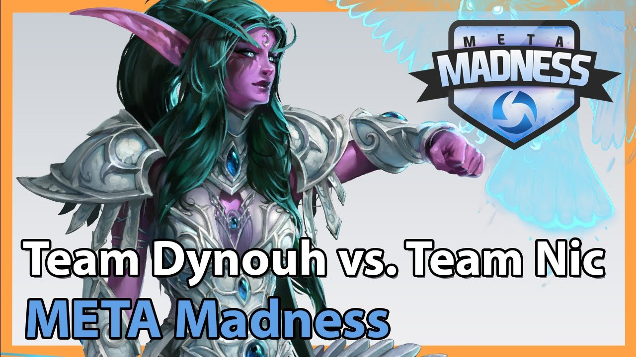 Nic vs. Dynouh - META Madness - Heroes of the Storm Tournament