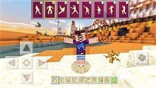 КАК ТАНЦЕВАТЬ в Minecraft PE 1.9.0.3   МОД НА ЭМОЦИИ   СКАЧАТЬ
