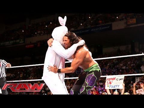 Adam Rose vs. Titus O'Neil: Raw, Sept. 8, 2014