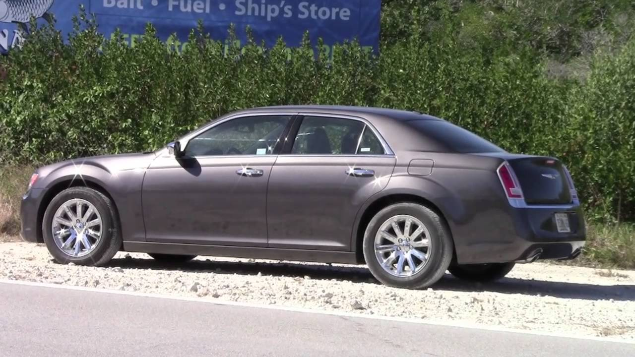 Here's the 2013 chrysler 300c on everyman driver youtube.