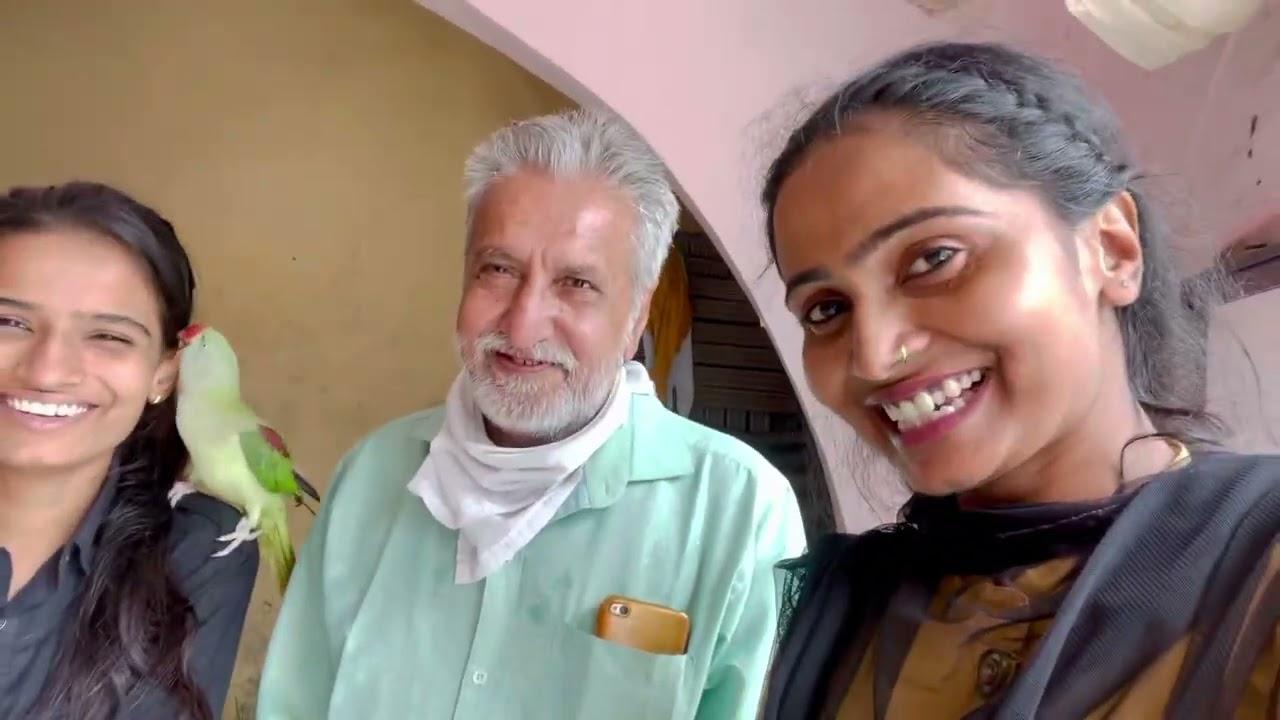|| Aaj Hum Se Ek Dada Ji Milne Aaye ||😇😇 Priyanka hard work new video || Poojapriynka New Video