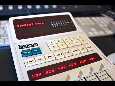 Lexicon 224XL Room Programs