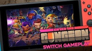Enter the Gungeon - Ten Minutes of Nintendo Switch Gameplay!