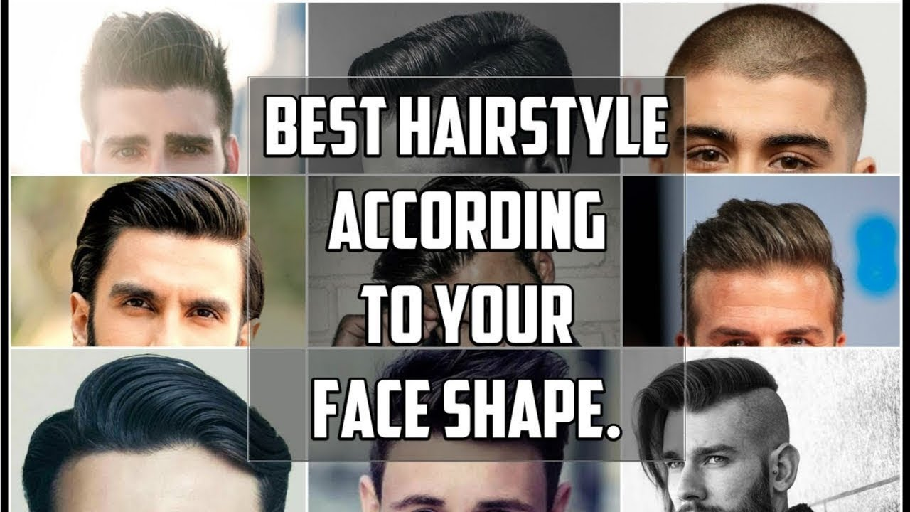 Choose The Best Hairstyle For Your Face Shape For Men-How To ...