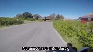 Cykeltur fra Søndervig Camping langs Ringkøbing Fjord