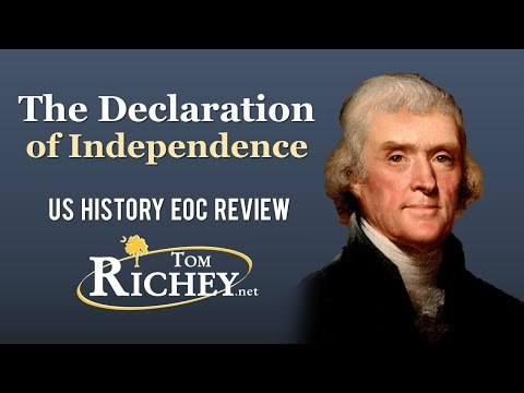 The Declaration of Independence (US History EOC Review - USHC 1.3)
