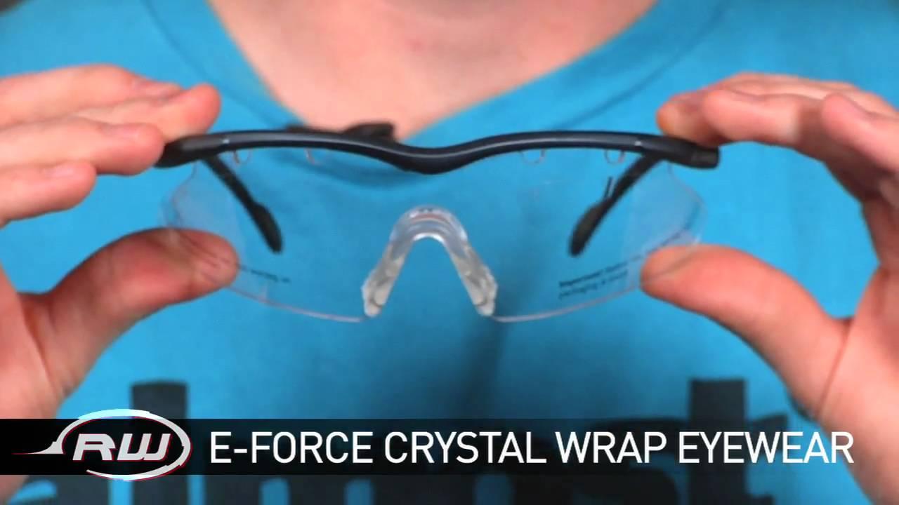 b776e5cdc16 The Low Down - E-Force Crystal Wrap Eyewear - YouTube