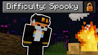 "So I made a ""Spooky"" Difficulty in Minecraft..."