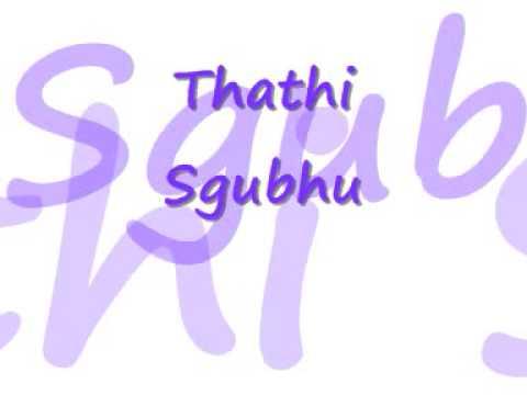 Thathi Sgubhu