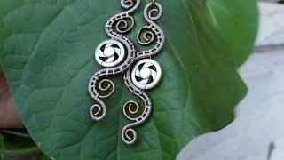 DIY Steampunk Earrings