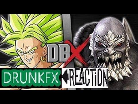 Broly VS Doomsday (Dragon Ball Z VS DC Comics) | DBX reaction