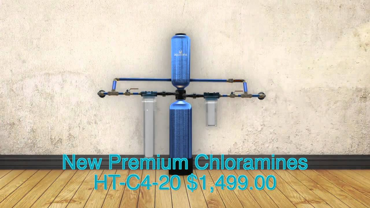 Aquasana New Premium Chloramines Ht C4 20 Whole House Water Filter Viet Version