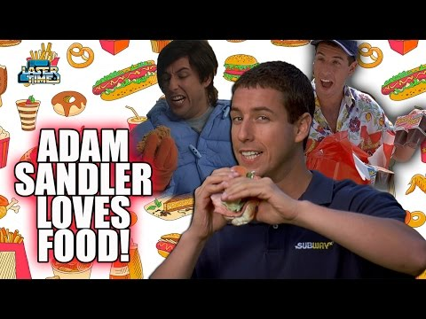 Adam Sandler Loves Food! - A Tribute to Product Placement