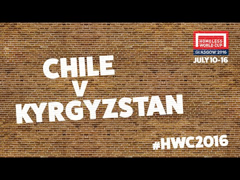 Kyrgyzstan v Chile | Second Stage Group B #HWC2016