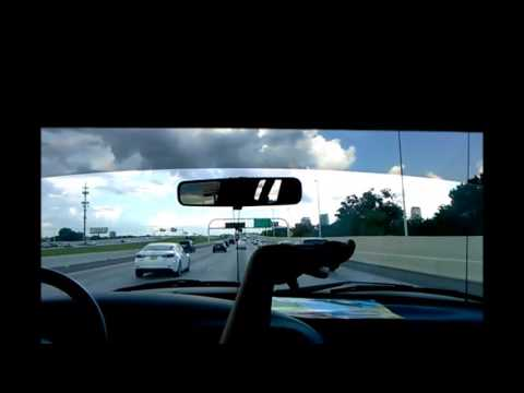 Driving on Interstate 275 N (Tampa, FL to Lutz, FL)