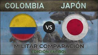 COLOMBIA vs JAPÓN - Poder Militar - 2018 [EDICIÓN FÚTBOL]