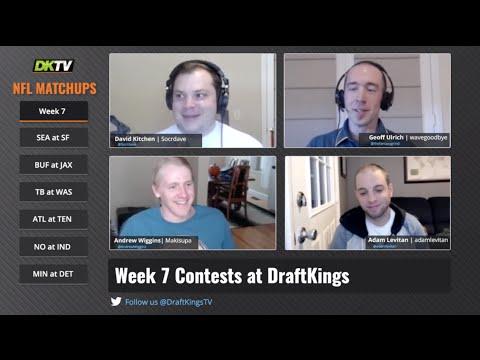 NFL Week 7 Matchups Breakdown - DraftKings Fantasy Football Picks