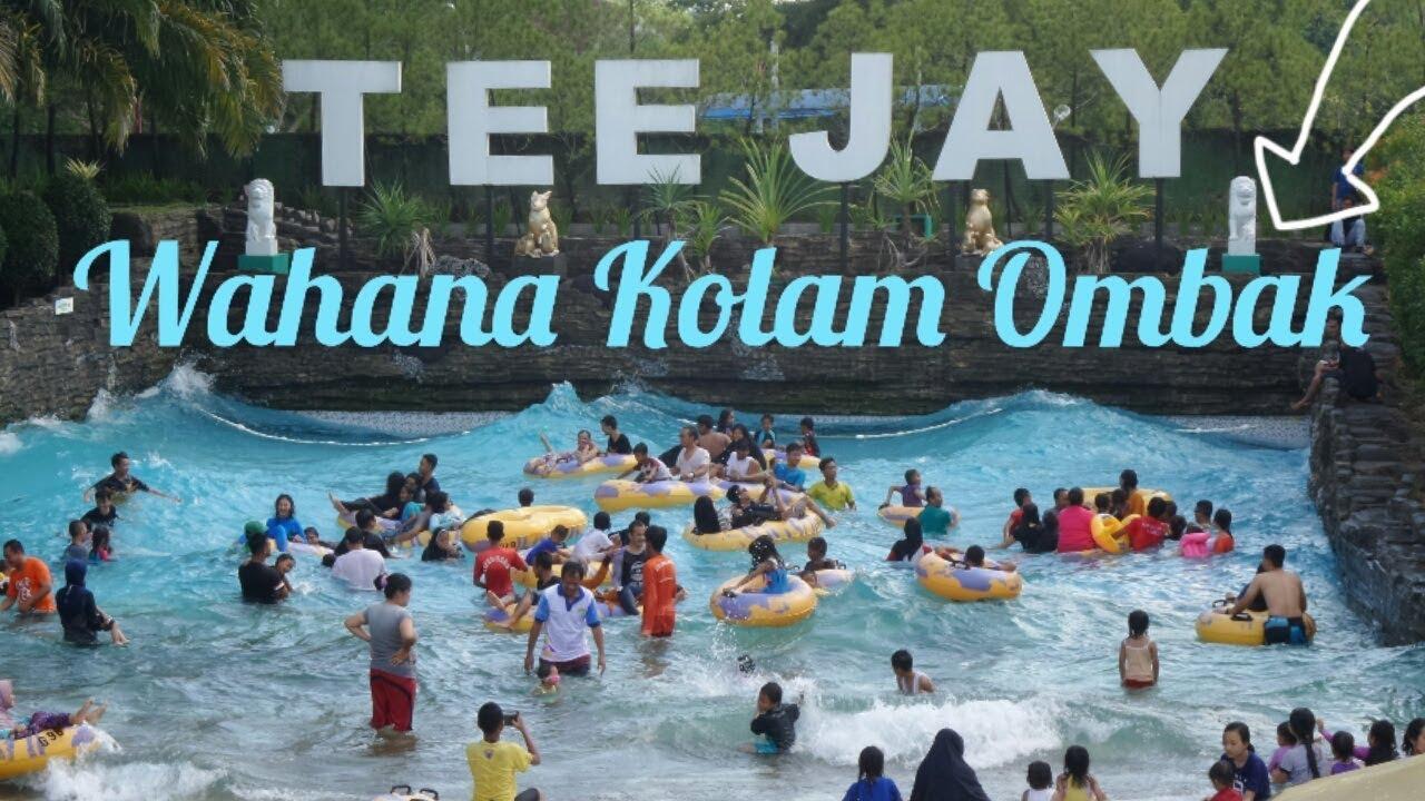 Teejay Waterpark Wahana Kolam Ombak Tasikmalaya Youtube