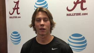 Alabama fall camp: Punter JK Scott