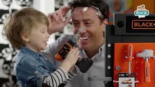Otroška delavnica Black+Decker Smoby z mehanskim v