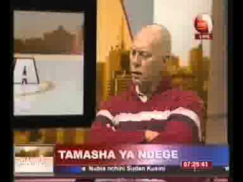 Tusker Air Show Festival 2013  - KBC Channel Interview  -  ACEA Chairman  - Rob Linck