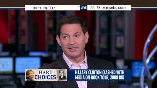 Mark Halperin: Disappointing Book Sales Show Clinton Is Not The Candidate About The Future