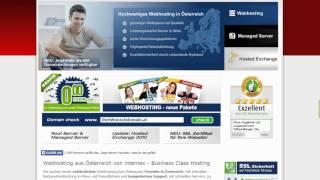 Internex Webhosting aus Österreich - Premium Managed Hosting