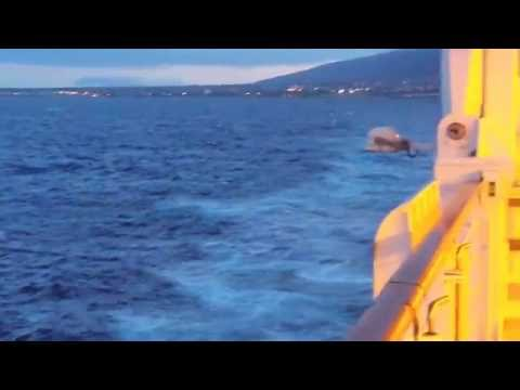 On ship leaving Maui