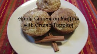 Apple Cinnamon Muffins With Crumb Topping Recipe